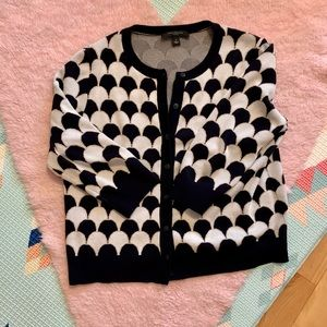 Tops - Ann Taylor patterned cardigan